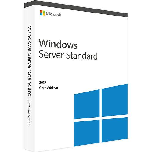 Microsoft Windows Server 2019 Standard 2 Core Add-on