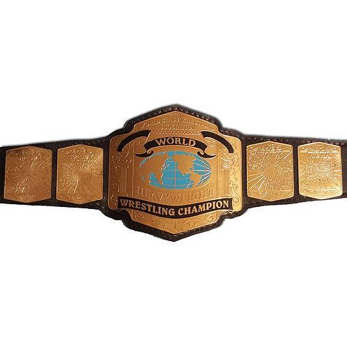 World Class Wrestling Title Belt