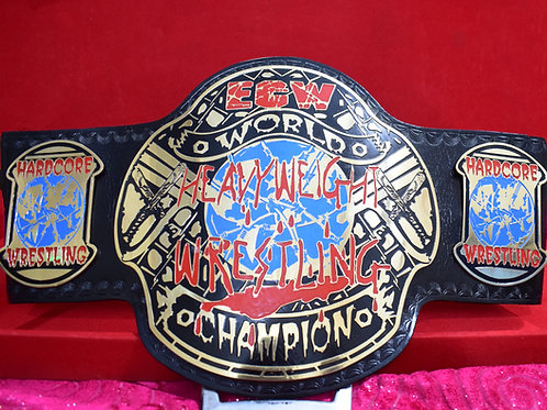ECW Heavyweight Wrestling Championship Replica Title Belt