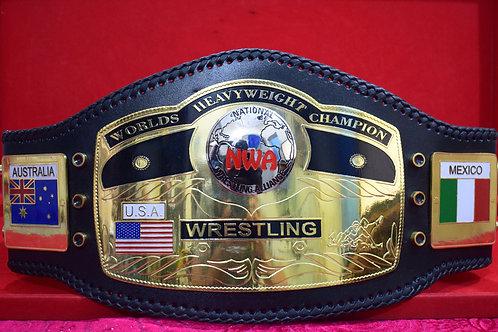 NWA World Heavyweight Title Belt