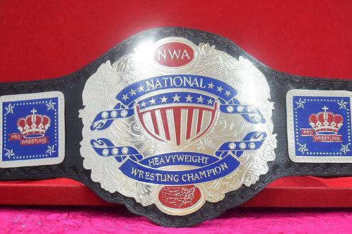 NWA National Heavyweight Adult Size Wrestling Championship Belt