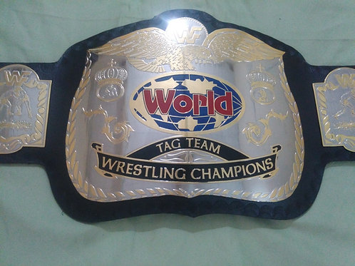 New Replica World Tag Team Championship Replica Title Belt