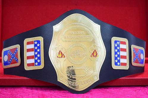 NWA National Tag Team Championship Wrestling Belt