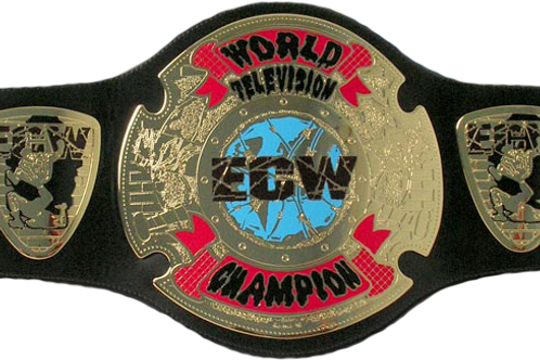 ECW World Television Championship Replica Title Belt