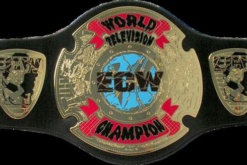 ECW World Television Championship Replica Title Belt