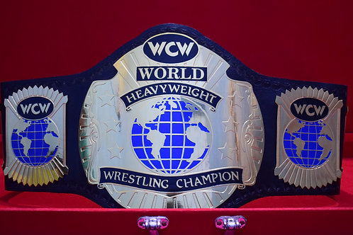 WCW World Heavyweight Wrestling Memorable Championship Belt