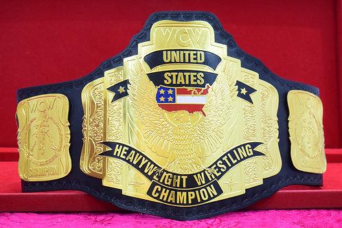 WCW United States 5  Plates Heavyweight Wrestling Championship Memorable Belt