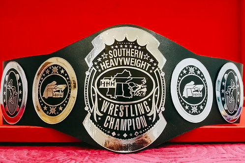 AWA Southern Heavyweight Wrestling Championship Memorable Belt