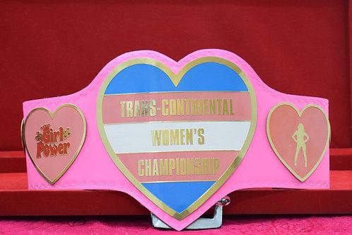 Trans Continental Women's Championship Belt