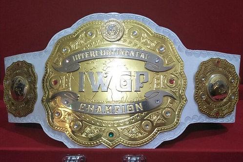 New IWGP Intercontinental Replica Championship Belt