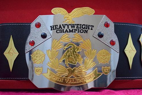 John Valentine Heavyweight Championship Belt