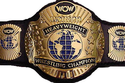 WCW World Heavyweight Championship Replica Belt