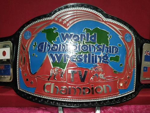 Georgia Television Championship Memorable Replica Belt