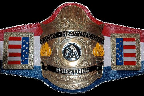 AWA Light Heavyweight Replica  Belt