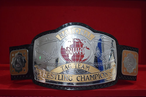 NWA National Tag Team Championship Title Replica Belt