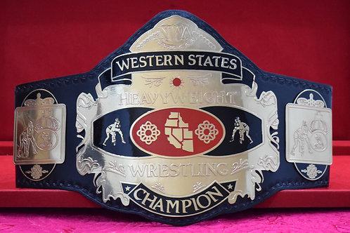 NWA Western Stater Wresting Memorable Championship Belt