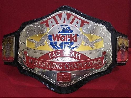 AWA World Tag Team Wrestling Memorable Championship Belt