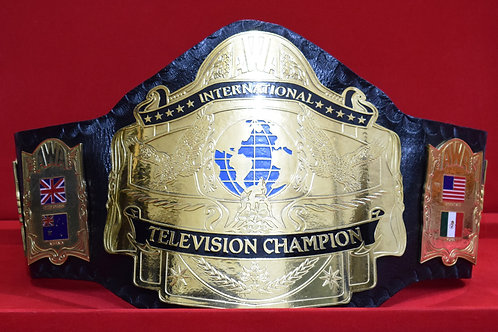 AWA International TV Replica Belt