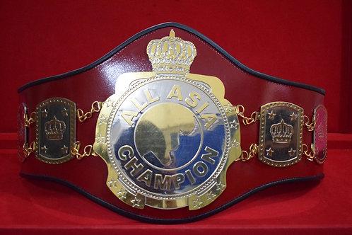 ALL Asia Wrestling Memorable Replica Championship Belt