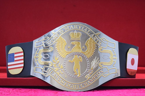 WWF World Martial-Arts Heavyweight Memorable Championship Belts