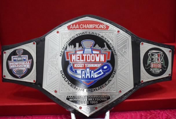 AAA MRLTOOWN CHAMPIONSHIP BELT