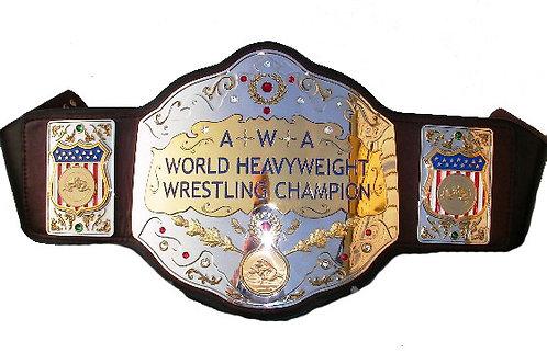 AWA World Heavyweight Tittle Replica Belt