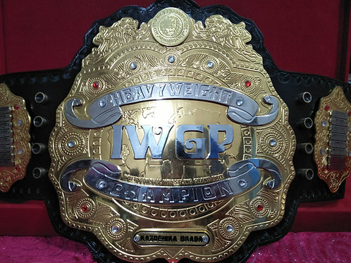 New IWGP Version 4 - Heavyweight Wrestling  Replica championship Belt