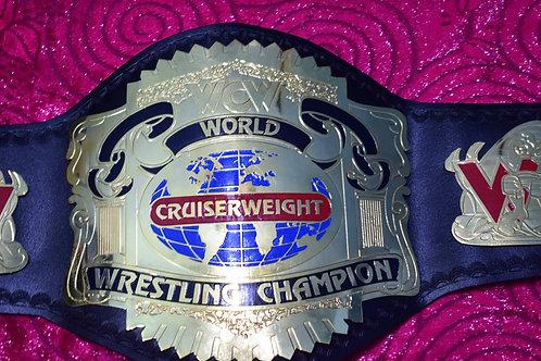 WCW World Cruiserweight Wrestling Replica Belts