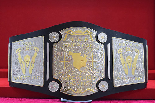 North Amarican Wrestling Championship Memriable Belt