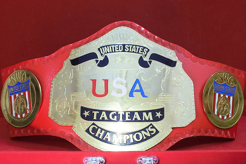NWA United States Tag Team Championship Replica Title Belt