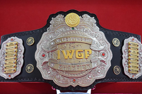 New IWGP JR Wrestling Championship Belt