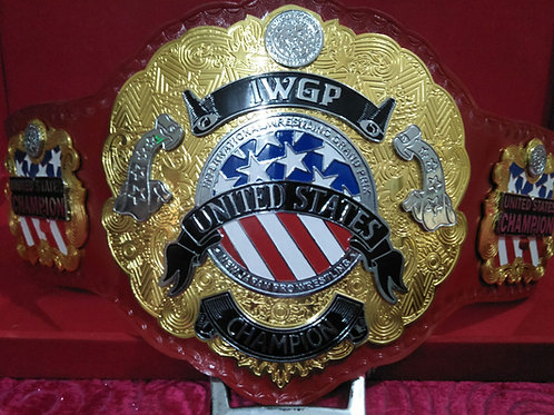 IWGP United States Championship Memorable Replica belt