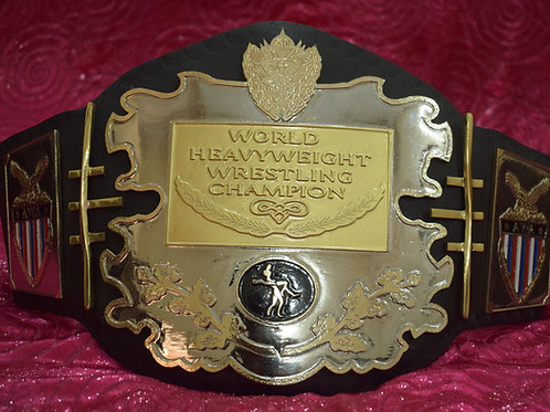 AWA World Heavyweight Memorable Title Belt