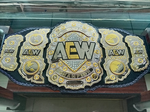 AEW World Wrestling Double Layer Championship Belt