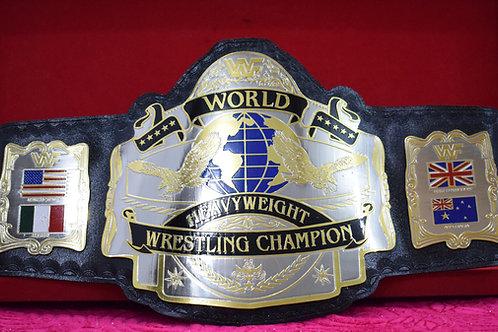 Andre Hogan 1987 Wrestling Championship Belt