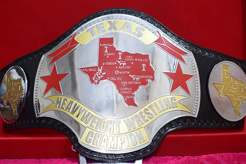 Texas Heavyweight Wrestling Title Replica Belt