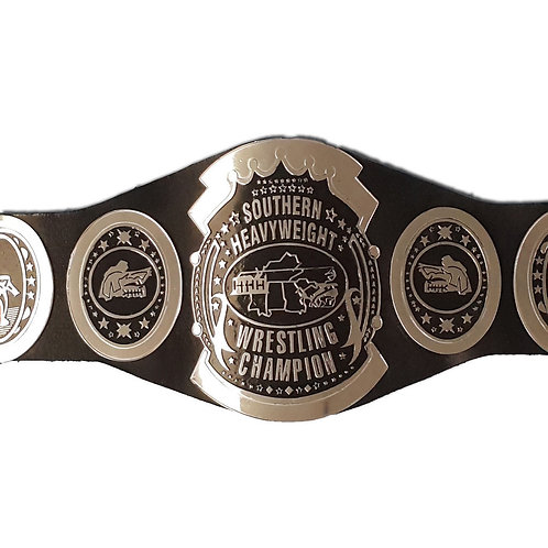 Southern Heavyweight Wrestling Title Replica Belt