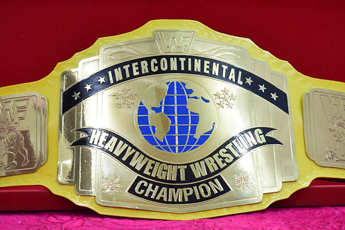 WWF Intercontinental Title Ultimate Warrior Championship Belt