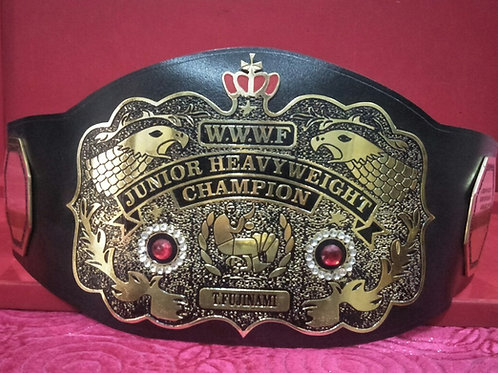 WWWF Junior Heavyweight Memorable Championship Belt