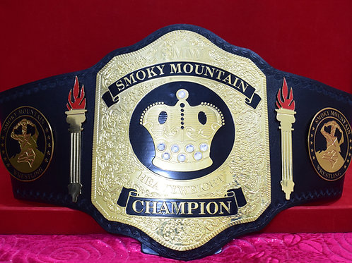 SMW World Heavyweight Wrestling Championship Replica Belt