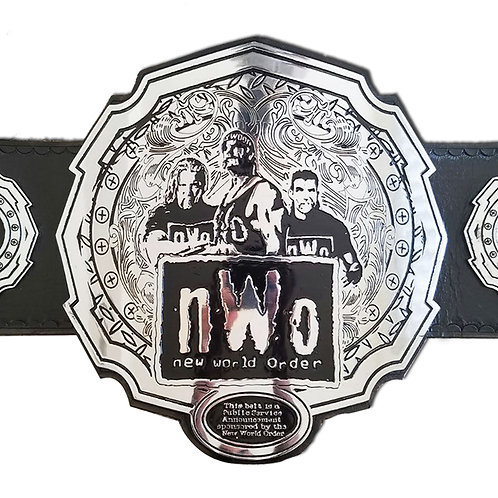 nWo New World Order Championship Replica Title Belt