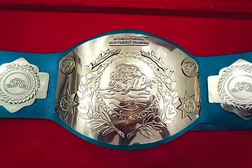 1980 Era Old Intercontinental Classic Wrestling Championship Belt