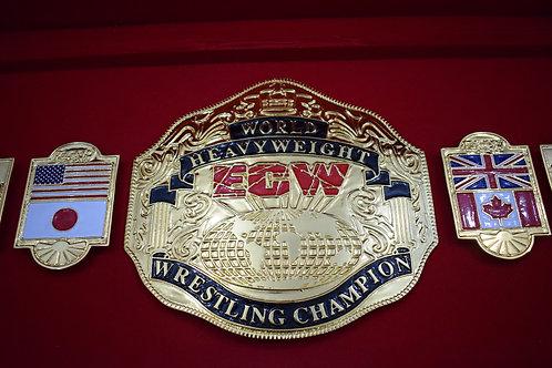ECW World Heavyweight Championship Zinc Plates Belt