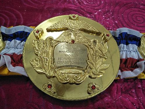 Rocky Boxing Championship Belt
