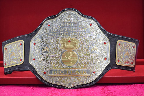 Ric Flair World Heavyweight Memorable Championship Belt
