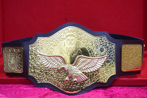 WWWF World Heavyweight Memorable Championship Belt