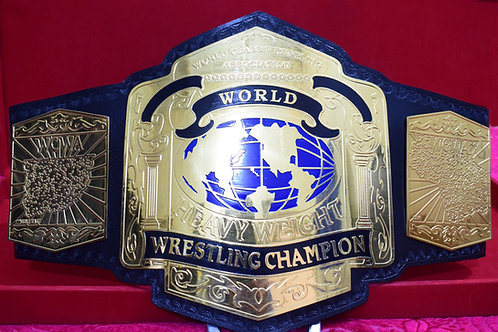 WCWA World Class Wrestling Association Heavyweight Memorable Championship Belt