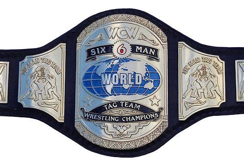 WCW Six Man Tag Team Championship Replica Belt