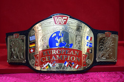 EUROPEAN Wrestling Tittle  Memorable Replica Championship Belt