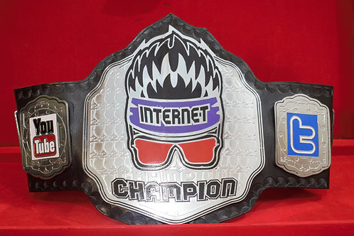 Zack Ryder Internet Memorable championship Belt